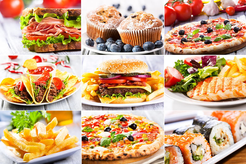Recipe categoriescookingforfamily recipe categories collage of random prepared foods forumfinder Image collections